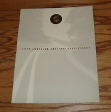 Original 1997 Chrysler LHS / Concorde / Cirrus Deluxe Sales Brochure 97