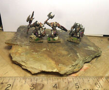 28mm Chaos Warriors. Gamezone Miniatures. x3. Painted.