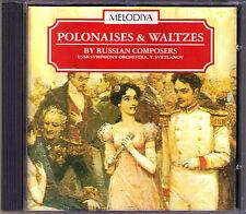 SVETLANOV: POLONAISE WALTZES Glinka Glazunov Tchaikovsky Rimsky-Korsakov CD