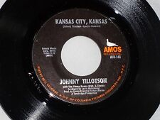 Johnny Tillotson: Kansas City / I Don't Believe in If Anymore  [Unplayed Copy]