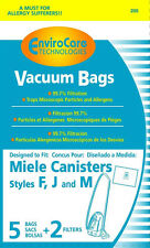 20 Miele FJM Allergen Canister 7291640 Vacuum Bags