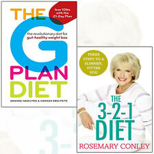 Rosemary Conley's 3-2-1 Diet and The G Plan Diet 2 Books Collection SetPaperback