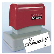 BEST Selling Custom PRE Ink Signature Stamp for Office & Personal use 20 x 60mm