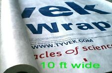 <~10 FOOT~> TYVEK tent footprint ground sheet camping tarp w/ GROMMET TABS