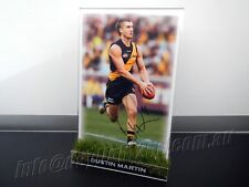 Signed DUSTIN MARTIN Photo & Frame PROOF COA Richmond Tigers AFL 2017 Guernsey