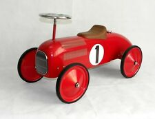 Scoot along Speedster Racer Ride-On Kids Car in Red