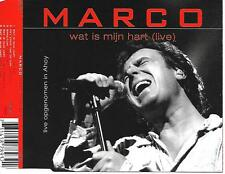 MARCO BORSATO - Wat is mijn hart (LIVE) CD-MAXI 5TR Enh 2000 Holland