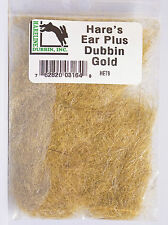 Hare´s Ear Plus Dubbing Hase, Guard Hairs & Antron HET9 GOLD