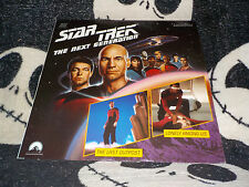 Star Trek TNG The Last Outpost +Lonely Among Us Laserdisc LD Free Ship $30 Order
