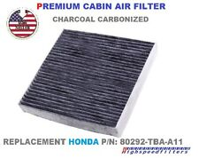 CHARCOAL CARBON CABIN AIR FILTER For 2016 HONDA CIVIC /REPLACEMENT 80292-TBA-A11