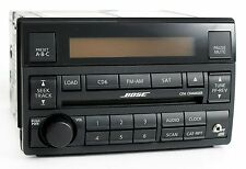 2005-2006 Nissan Altima AM FM 6 Disc CD Bose Radio w Aux mp3 Input - 28185ZB201