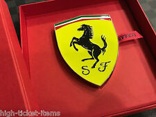 Genuine Ferrari Shield Paperweight Extremely RARE New in BOX 270005968 RARE