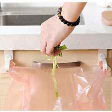 Kitchen Cupboard Smashing Tailgate Stand Storage Garbage Bags Hanging Hooks