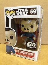 FUNKO POP! Star Wars Blue Snaggletooth Smuggler's Bounty #69 Exc Vinyl Figure