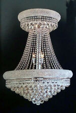 Palace Limited Edition Bangle 15 Light Dining Crystal Chandelier Light Chrome