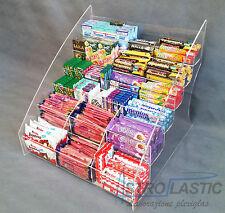 Espositore da banco in plex a 6 piani per caramelle snack accendini etc