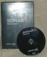 Cakewalk Sonar 8 Producer Edition dvd