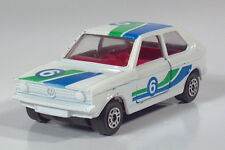 "Corgi Juniors VW Polo Volkswagen Turbo Rally 6  2.75"" Die Cast Scale Model White"