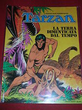 """TARZAN  """" LA TERRA DIMENTICATA DAL TEMPO """" - ED. CENISIO 1974"""