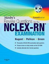 Mosby's Review Questions for the NCLEX-RN Exam [With CDROM] Elsevier 7th Edition