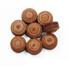 Wholesale price! 10x Pool Billiard 12-Layers Medium leather Pool Cue Tips 14 MM