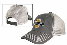 Cummins Diesel Embroidered Cross Mesh Gray Cap