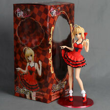 Fate Stay Night Flare Fate EXTRA CCC Saber Red Skirt Dress Sexy Figure 3D Model