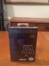Total Recall Nintendo Entertainment System Video Game 1990 Akklaim NIB NIP