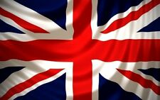 3x5 ft Flag of United Kingdom Great Britain Union Jack Print Polyester Flag