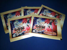 5 Packs Of Upper Deck Entertainment Yu-Gi-Oh GX Stickers Yugioh