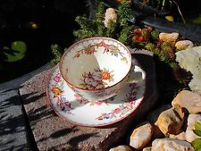 Sarreguemines Tasse Vogeldekor Art China 19 Jhdt.