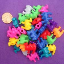 15 x Mixed Lion Pony Beads, Key Rings, Craft, Jewellery making, Pony Bead,Spacer