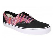 Vans Off the Wall Era Guate Weave Black Multi Stripe Mens Shoes 9.5 Sneaker Sk8