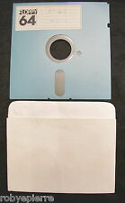 Floppy disc 5.25 inch 5 1/4 Commodore 64 Moto n 43 floppy 64 vintage giochi