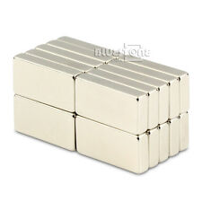 20pcs N50 Strong Power Block Magnets 20 x 10 x 4mm Cuboid Rare Earth Neodymium
