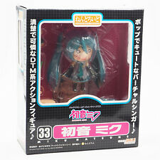 NEW Nendoroid 33 Hatsune Miku Figure Vocaloid Good Smile Company