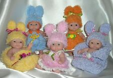 "5""8""10"" Berenguer dolls Easter Babies Bunnies outfit knitting PATTERN"