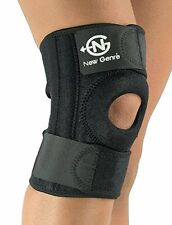 Knee Support Brace Black | Adjustable Straps for Most Sizes | ACL and MCL with