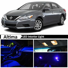 13x Blue LED Lights Interior Package Kit for 2015-2016 Altima + TOOL