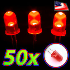 [50x] Red LEDs - 5mm Diffused Lens