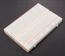 PCB Test Mini Breadboard Solderless Protoboard Board 400 Contacts Tie Points