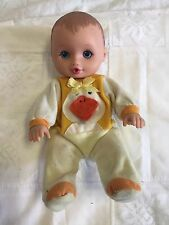 Vintage 1995 Lauer Toys Water Baby Doll Pre-loved Condition