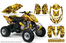 CAN-AM DS650 DS650X CREATORX GRAPHICS KIT DECALS INFERNO Y