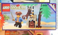 Lego 1889 Pirate Treasure Hold  Vintage set 1992  New sealed package w Monkey