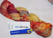 Beauty! ARCHANGEL Lg Skein 150yd Malabrigo SILKY MERINO Wool & Silk Luxury YARN