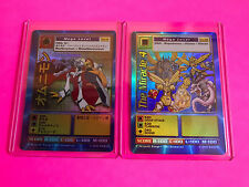 Digimon TCG Card Game OM-01 Omnimon OM-02 The Miracle 4 Mega Rare Never Played