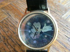 LAST CHANCE SALE Lorus Mickey Mouse Disney Hologram Watch with fresh battery