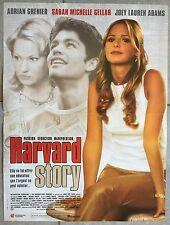 Affiche HARVARD STORY James Toback SARAH MICHELLE GELLAR 40x60cm *
