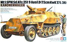 Tamiya 35147 1/35 Sd.Kfz.251/9 Ausf.D 75mm KwK 37 L/24