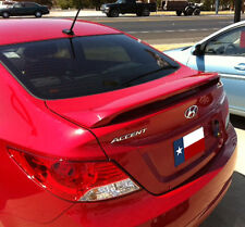 Fits: Hyundai Accent 4-Door 2012+ PAINTED 2-Post Custom Rear Spoiler USA MADE
